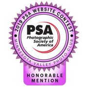 Honorable Mention - 2019 PSA Photography Contest