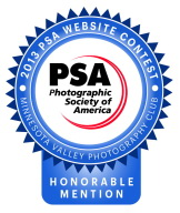 Honorable Mention - 2013 PSA Photography Contest
